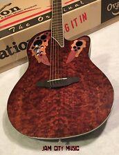 Ovation Celebrity Elite Plus CE48P-TGE Super Shallow Acoustic-Electric Guitar