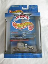 Hot Wheels 1999 Final Run 3/12 Kenworth 600A Real Riders Sealed In Card