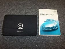 2010 Mazda MX5 Miata Owner Owner's Operator Manual Set Sport Grand Touring 2.0L