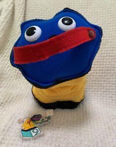 RARE Vintage 1993 Johnson And Friends McDuff 30cm Plush Toy ABC + Magnet