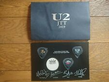 U2 2019 Japan Joshua Tree Tour Ss Seat Only Special Gift Guitar Pick Set w/Mount