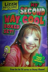Lizzie McGuire MY SECOND WAY COOL BOXED SET.  4 BOOKS