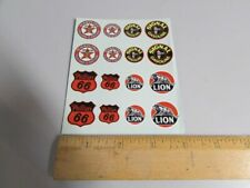 HO Scale Gas Station Decal Set: