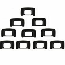 10pcs DK-25 Rubber EyeCup Eyepiece For Nikon D5300 D5500 D3300 D3100 D5000 D3000