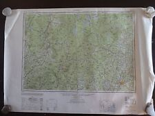 1950 - Large Geographic Map of Lewistown, Maine - Army Map Service