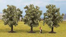 Árboles de Noch N, Z (25511): 3 Árboles de frutas, blanco flores