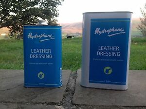 HYDROPHANE LEATHER DRESSING 500ml 1Lt - Protects and Waterproofs