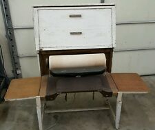 IRONRITE CONSOLE R 373 VINTAGE IRONER/ Furniture table laundry store display