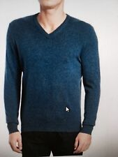 NWT-Black Brown 1826 100% Cashmere Men's sweater-orig$199 Small V-neck@luxurious