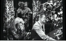 ELIZABETH MONTGOMERY DICK YORK LAUGH ON SET BEWITCHED 1967 ABC TV PHOTO NEGATIVE