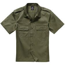 Brandit manga corta US Hemd exterior Casula camisa corte normal 2x-l oliva