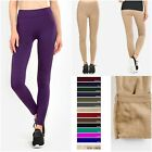 Women Faux Fur Lined Leggings Warm Soft Smooth Lining Winter Skinny Pants TX301