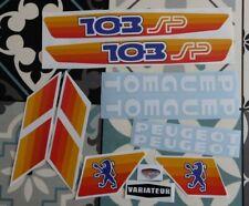 kit autocollant peugeot 103 sp REF:MOB003