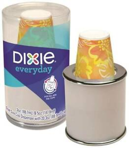 Dixie 14011/07 Combo Cup Dispenser, For 3 Ounce or 5 Ounce Bath Cups