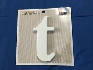 "Koala Baby Lowercase ""t"" *NEW* c1"