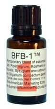 Supreme Nutritions BFB-1 biofilm:  Essential Oil Blend.