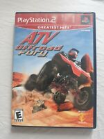 ATV Offroad Fury (Sony PlayStation 2, 2001) PS2 game cib complete