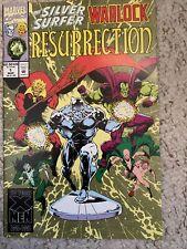 SILVER SURFER WARLOCK RESURRECTION #1 MARVEL COMICS 1993 FANTASTIC FOUR