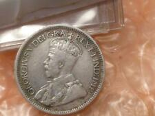 1915 Canada 10 Cents Silver Coin Key Date  688,057 Minted #AA