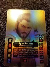 Star Wars X-Wing 2.0 Custom Unofficial Alt Art Holo Card Foil Kyle Katarn