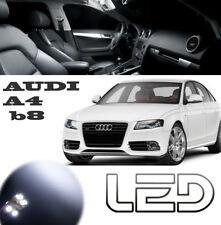 AUDI A4 B8 Pack 16 Ampoules LED Blanc éclairage Sols plafonnier Coffre Portes