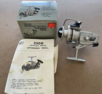 Fishing Rare Vintage Kmart 3500 SPINNING Reel Nice Reel NOS with box & inst