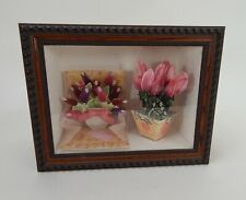 "Happy Mother's Day Shadow Box Card/Flowers W 13.5"" x H 10.5"" x D 6.5"""
