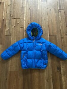 The North Face Toddler Hooded boys winter goose down puffer coat jacket 4T