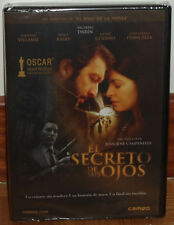 EL SECRETO DE SUS OJOS DVD PRECINTADO NUEVO CINE ESPAÑOL DRAMA (SIN ABRIR) R2