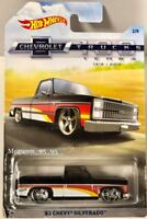 2018 Hot Wheels Chevrolet Trucks 100 years  '83 Chevy Silverado 2/8
