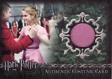 Harry Potter Goblet of Fire Update Hermione's Yule Ball Dress C7 Costume Card