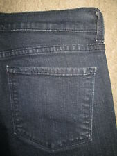 Not Your Daughter's Jeans NYDJ Straight Crystals Stretch Denim Womens Sz 10 x 30