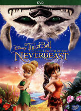 Tinker Bell and the Legend of the NeverBeast (DVD, 2015) NEW