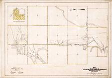 "1919 Map Agua Caliente Indian Reservation California 11""x16"" Art Print Decor"