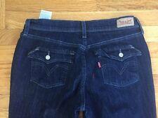 Levi 515 Bootcut Blue Jeans 10 Dark  Flap Back Pockets Mint!