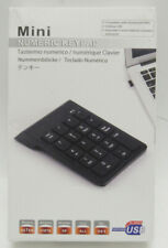 Wireless USB Numeric Keypad Windows & Mac Open Box -H7