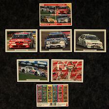DTM SAISON '95 TOP ASS SAMMELSET 5 - 5 COLLECTION CARDS 10x15 CM - OVP - SELTEN
