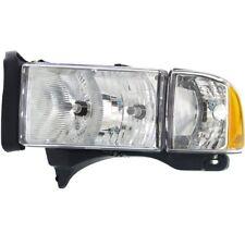 Halogen Headlight For 1999-2001 Dodge Ram 1500 Left w/ Bulb