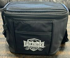 """Insulated Cooler Lunch Bag 6 Pack Picnic Beer Drink Water 9 X 6-1/4"""" Motorcycle"""