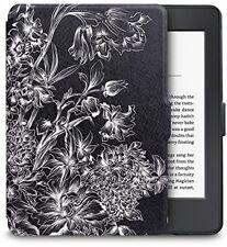 WALNEW Kindle Paperwhite Estuche Ultra Delgado Cubierta colorida pintura PU lgihtweight