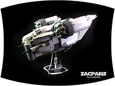 DISPLAY STAND for Star Wars Lego 75292 The Razor Crest  - Angled display!