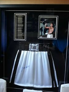 Muhammad ali signed trunks