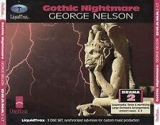 CD GEORGE NELSON gothic nightmare ONEMUSIC 3CD EX+