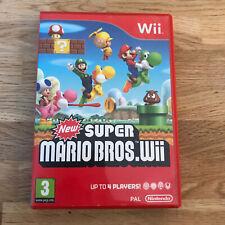 WII nuevo Super Mario Bros PAL Versión