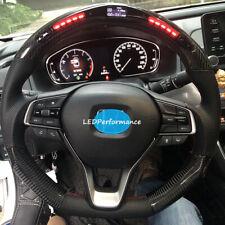LED Performance Steering Wheel for Honda Accord Real Carbon Fiber 2018 2019