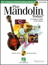 Play Mandolin Today Learn How to Play TAB Book +CD