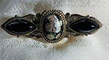 Vintage floral brooch. Free Fast shipping in the Usa!