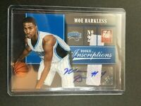 F64799  2012-13 Elite Rookie Inscriptions #61 Maurice Harkless AUTO MAGIC