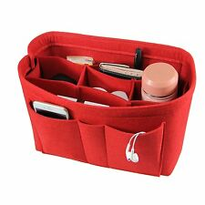 Felt Fabric Purse Handbag Organizer Bag - Multi Pocket Bag in Bag Insert Bag,