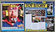 HOT WHEELS DIE CAST COLLECTING Toy Vehicle Car Model Magazine Page Article Story